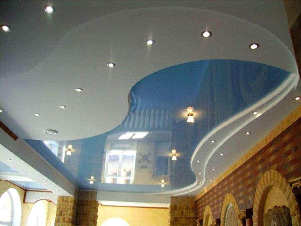 Натяжной потолок, матовый или глянцевый ?